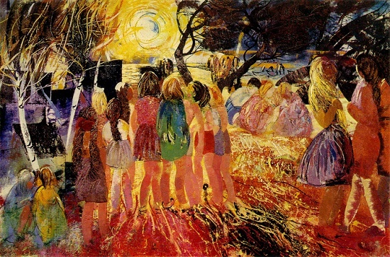 Soviet Latvian Artist Yanis Paulyuks 1906-1984