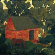 Yellow barn. 1909