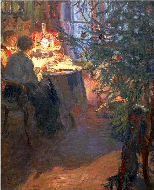 Christmas tree. 1921