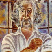 Artist V.A. Bubnov in Bulgaria. 1978. Oil, canvas