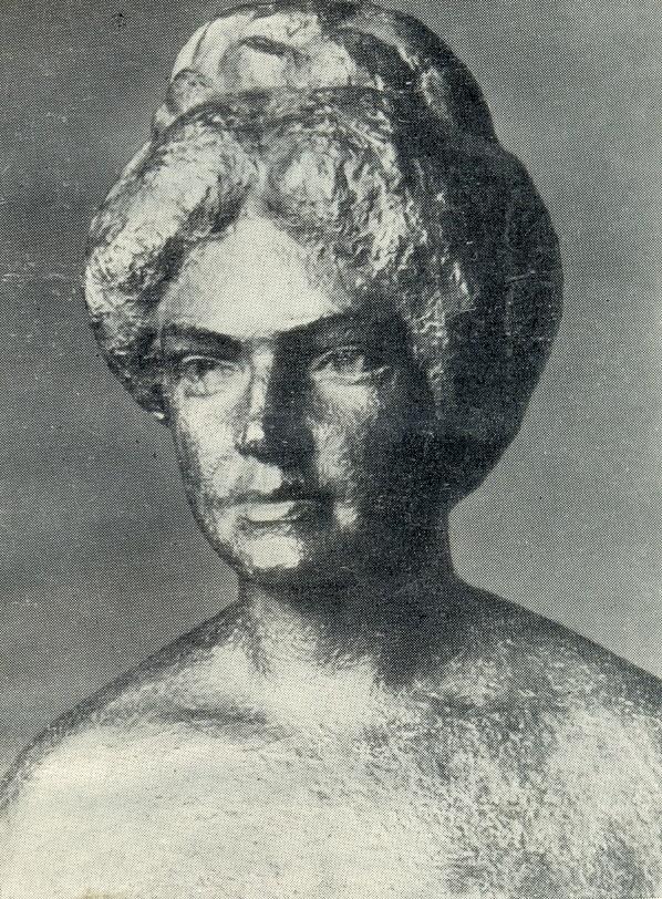 Aspazija, Latvian poet and playwrite. 1931
