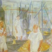 Bakery. 1975. Oil, canvas