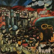 Baku. 1965. Oil, canvas