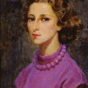 Ballerina Maya Plisetskaya, portrait. 1952