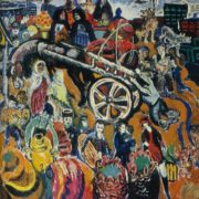 Bazar (market). 1968. Oil, canvas