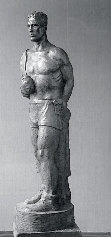 Boxer. 1947. Wood