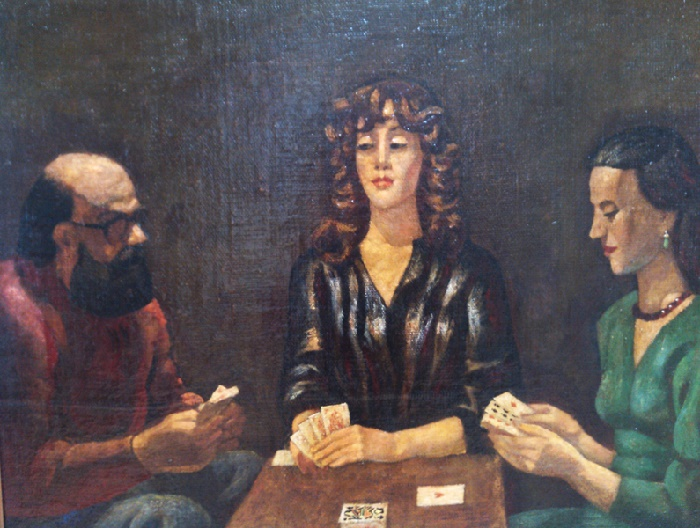 Card Players. 1988