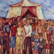 Chapiteau. 1972. Oil on canvas