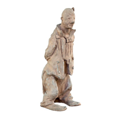 Clown. 1948. Terracotta