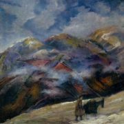 Cold day. 1960. Oil on canvas