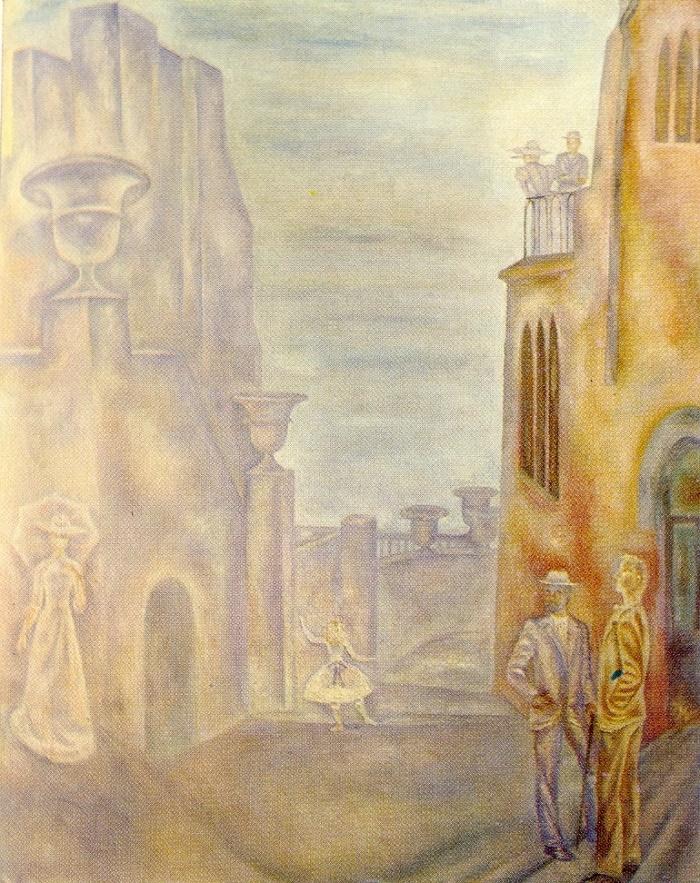Early XX century Gurzuf. 1977. Oil on canvas