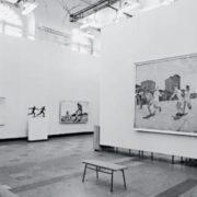 Exhibition. Relay race. 1945
