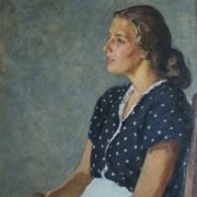Female portrait. 1950
