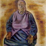 Female portrait. 1978. Oil on canvas