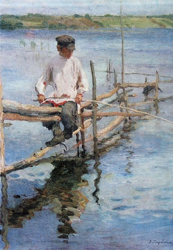 Fishing. 1907. Voronezh art museum