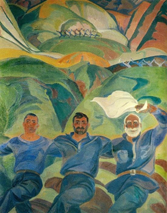 Soviet Armenian artist Nana Gyulikekhvyan