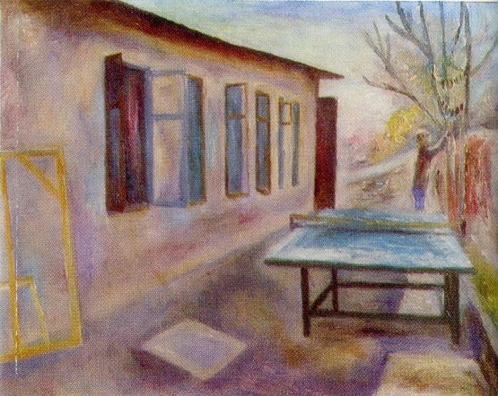 Gurzuf. 1977. Oil on canvas