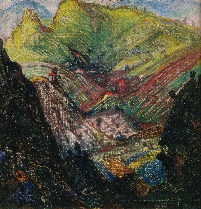 Imereti. 1968. Oil, canvas