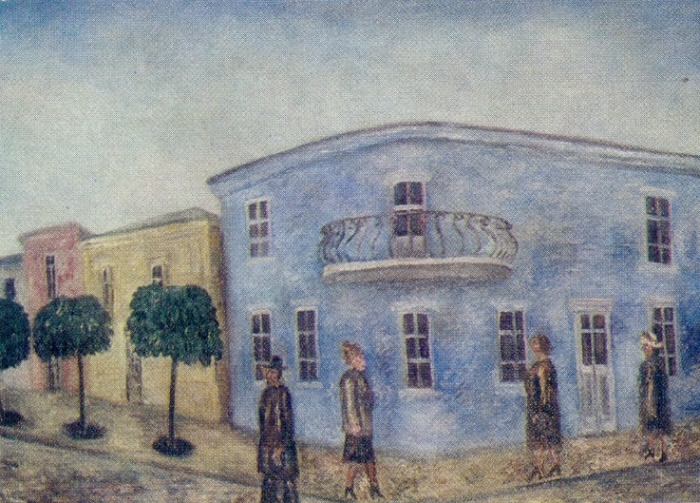 Krasnodar. 1974. Oil, canvas