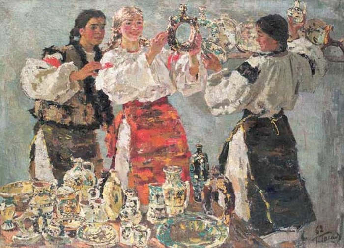 Kumantsy. 1962. Exhibition 'Soviet Ukraine'