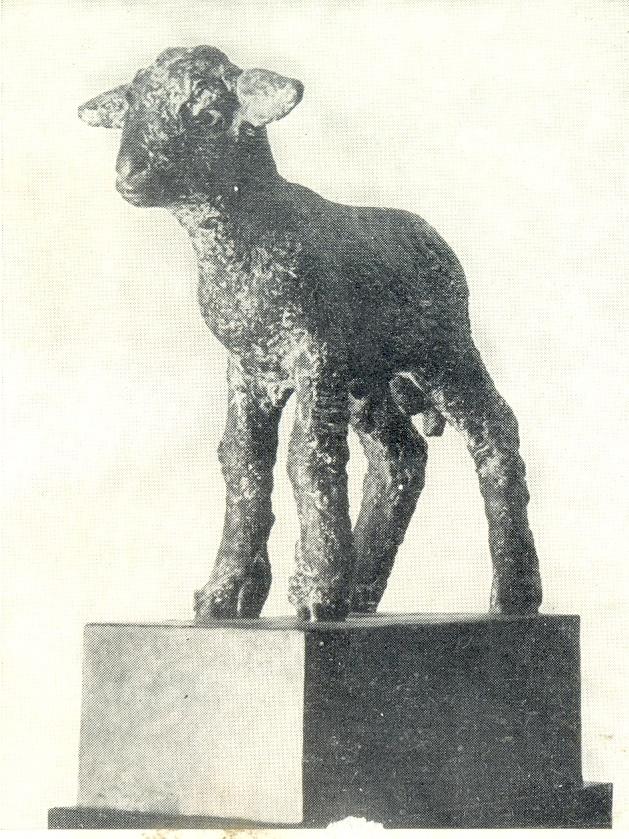 Lamb. 1933. The granite. Art Museum of the Latvian SSR