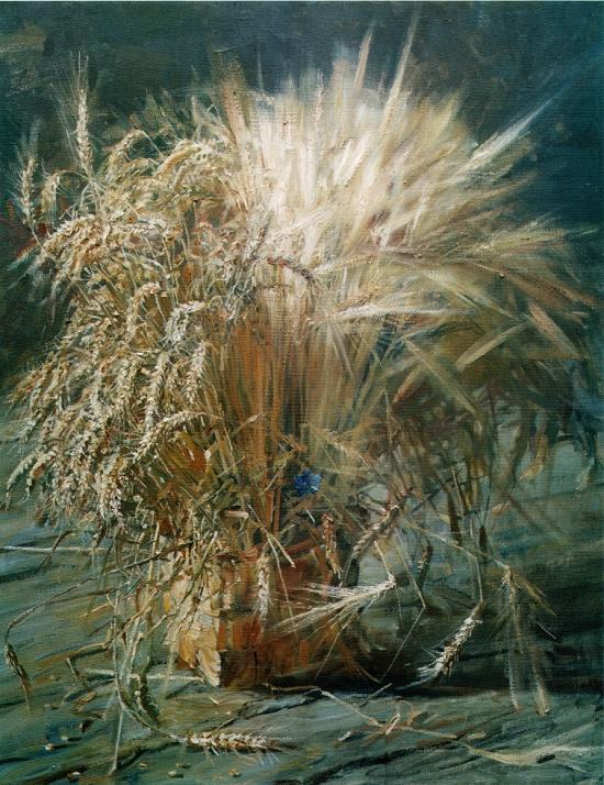 Soviet artist Mikhail Abakumov