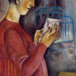 Soviet Russian artist Ksenia Nechitailo