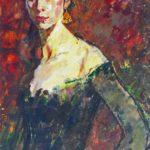 Soviet art painter Maya Andreevna Korotkova