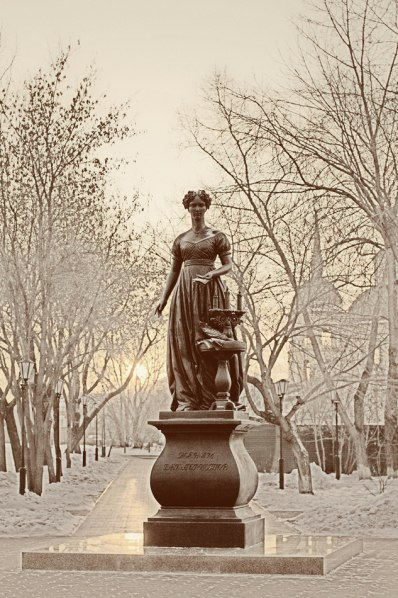 Monument to the wives of the Decembrists in Irkutsk