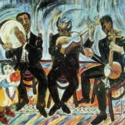Musicians. 1965. Oil, canvas