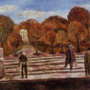 Neskuchny Sad. 1974. Oil on canvas