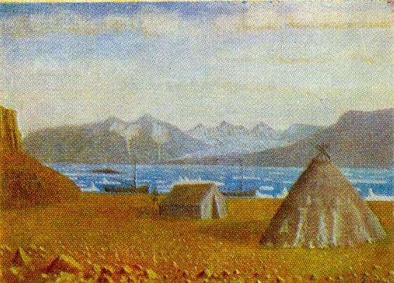 Neznayemy Gulf. 1950s. Canvas, oil. Arkhangelsk Museum of Fine Arts