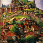 Old Tbilisi. 1969. Oil on canvas