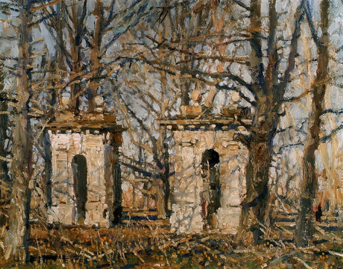 Old gates. 2002