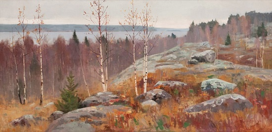 Onega autumn. 1960