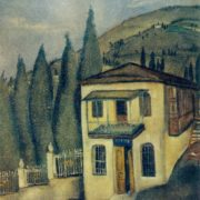 Pharmacy of Gurzuf. 1970. Oil on canvas