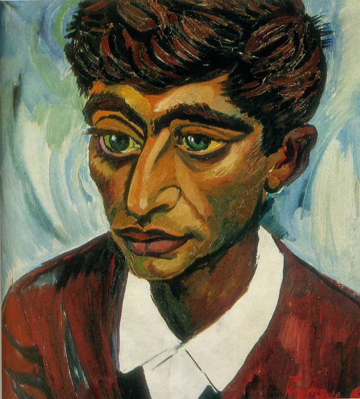 Poet Fikret Godja. 1960. Oil, canvas. USSR Art fund