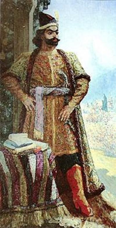 Portrait of Fatali-Khan of Cuban