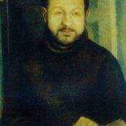 Portrait of I. Kupriyashin. 1974. Oil on canvas