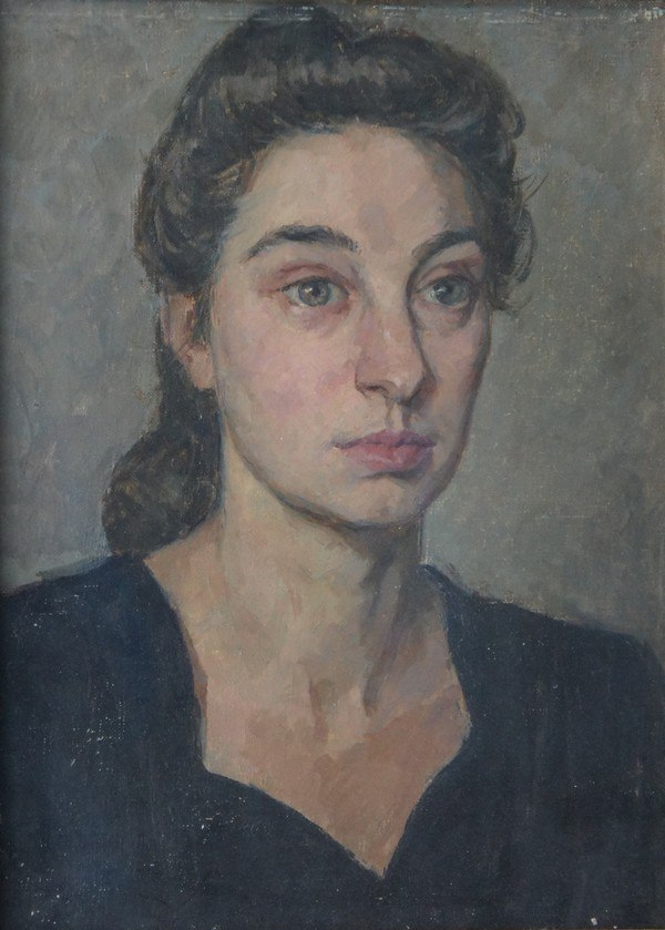 Portrait of a stranger. 1950