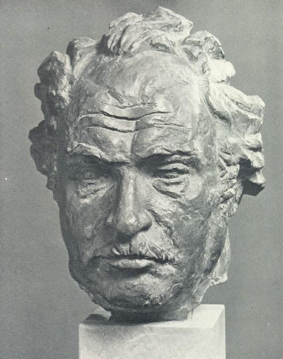 Portrait of artist Azanbek Dzhanayev. 1978