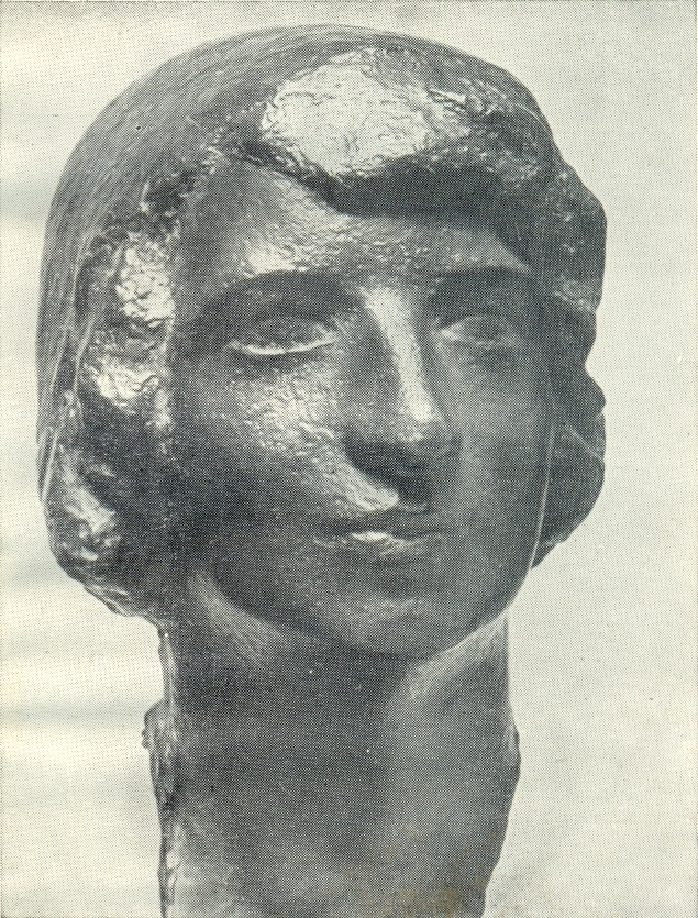 student M. Pakali. 1919. Bronze. Art Museum of the Latvian SSR