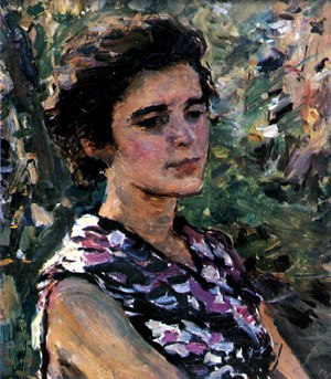 Portrait of wife. 1957