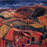 Rusovo autumn 1971. Oil on canvas