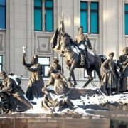 Russian victory monument - Brusilovsky breakthrough. Taking the fortress of Erzurum during the First World War