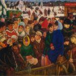 Soviet Russian artist Gennady Myznikov