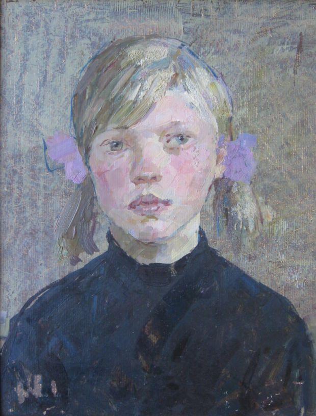 School girl. 1970