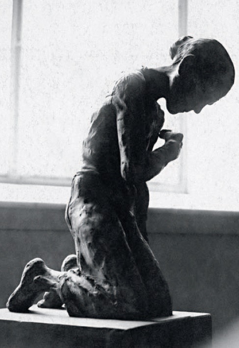Sculpture 'The Old Woman'