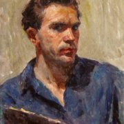 Self-portrait. 1950