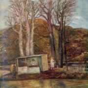 Shashlik (Barbecue). 1973. Oil on canvas